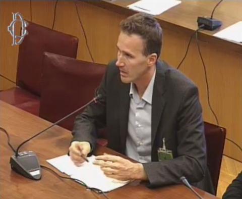 Paolo Ronchetti, rappresentante della IHBA, associazione per la canapa in edilizia