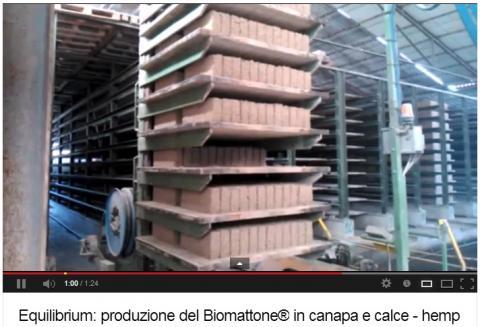 processo produttivo del Biomattone Equilibrium