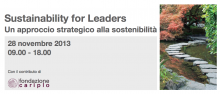 Sustainability for Leaders - un approccio strategico alla sostenibilità