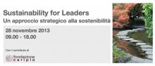 Sustainability for Leaders - un approccio strategico alla sostenibilità