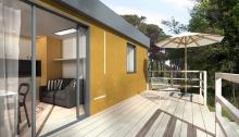 Ecoeden, casa mobile in Natural Beton® di Canapa e Calce