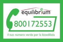 Numero verde per la bioedilizia