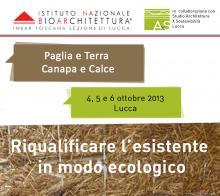 Canapa e calce a Lucca_riqualificare in modo ecologico